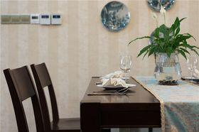 130平米三室两厅美式风格餐厅欣赏图