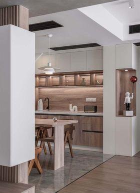 140平米復式現代簡約風格餐廳裝修效果圖