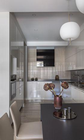 10-15万110平米三室两厅现代简约风格厨房设计图