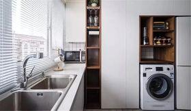 130平米三室兩廳北歐風格廚房圖片