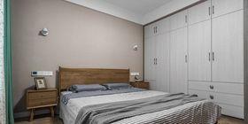 130平米三室两厅现代简约风格卧室装修图片大全