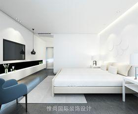 140平米復式現代簡約風格臥室欣賞圖