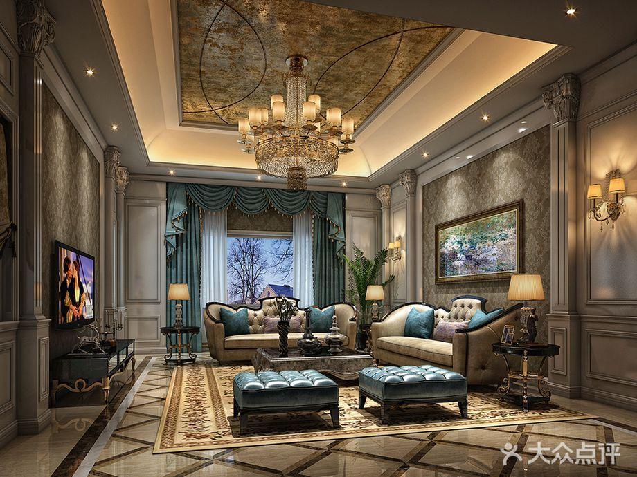 欧式装修风格的墙纸颜色选择,常以浅色系,乳白色,米色,浅褐色的为主