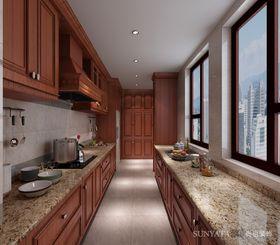 10-15万140平米四室两厅中式风格厨房欣赏图