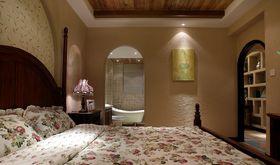 90平米三室两厅地中海风格卧室图