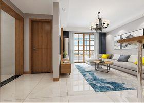 120平米三室三厅北欧风格玄关设计图