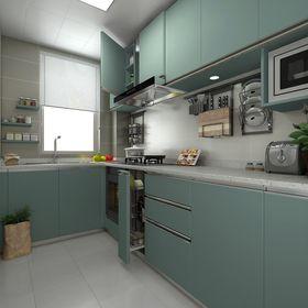 经济型30平米以下超小户型中式风格厨房效果图