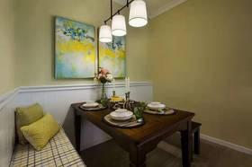 100平米三室两厅美式风格客厅装修案例
