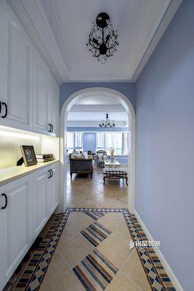 10-15万120平米三室两厅美式风格玄关图片