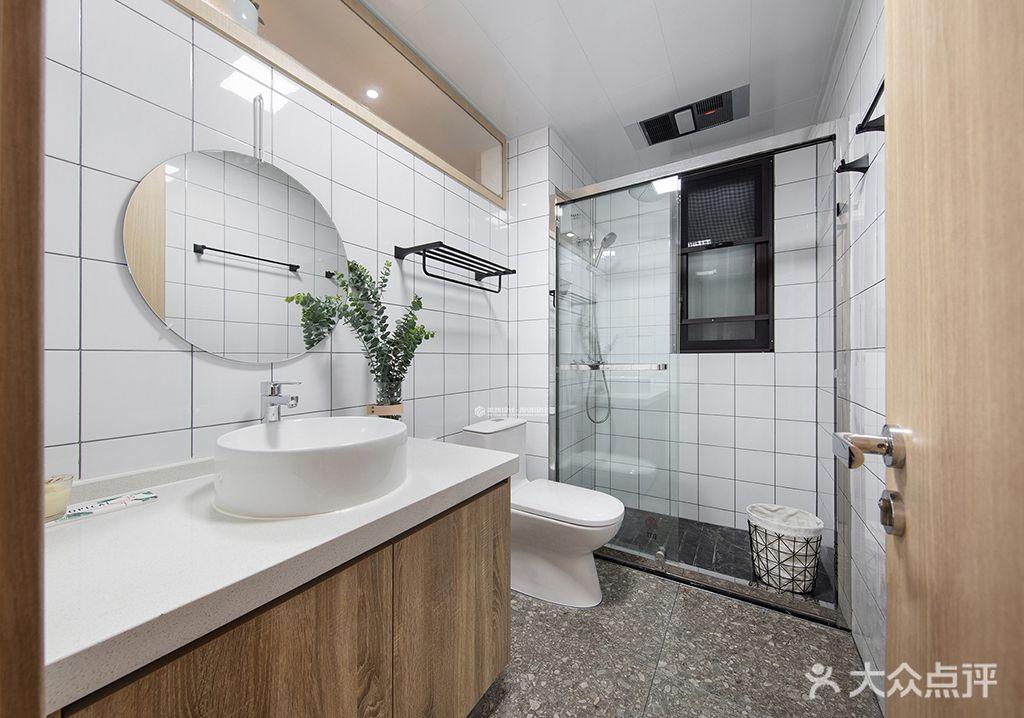 140平米四室两厅现代简约风格卫生间图片