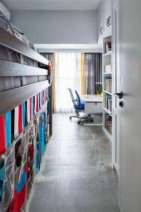 80平米三室两厅混搭风格儿童房欣赏图