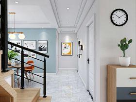 140平米四室两厅现代简约风格走廊装修图片大全