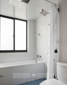 80平米三室两厅日式风格卫生间欣赏图