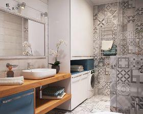 120平米三室两厅北欧风格卫生间欣赏图