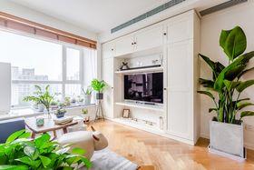 80平米日式风格客厅设计图