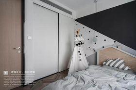 80平米现代简约风格儿童房装修效果图
