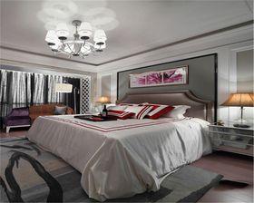 富裕型90平米三室两厅欧式风格卧室设计图