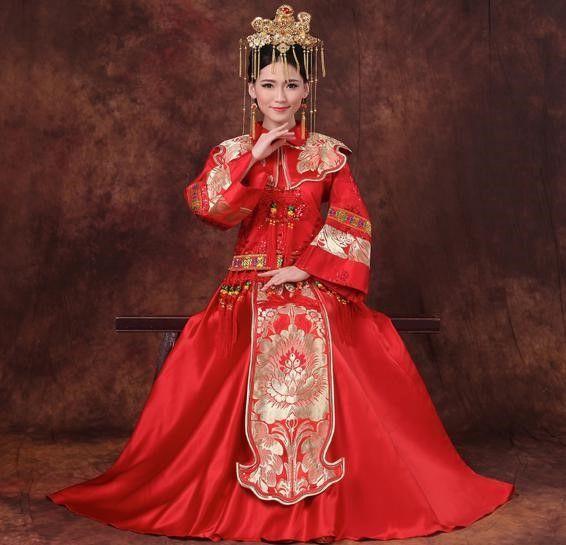 中式婚纱在选择时应该注意什么