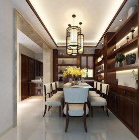 经济型110平米三室两厅中式风格餐厅装修图片大全