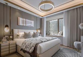 120平米四室两厅现代简约风格卧室装修效果图