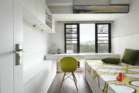 100平米三室两厅北欧风格阳台图