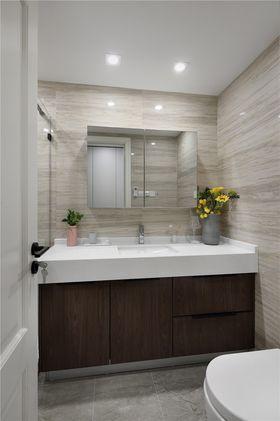 50平米公寓现代简约风格卫生间图