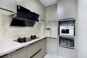 80平米三室一厅现代简约风格厨房欣赏图