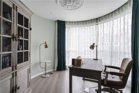 120平米三室两厅美式风格书房欣赏图