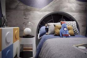 70平米三室两厅现代简约风格儿童房效果图