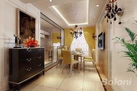 140平米四室兩廳歐式風格餐廳裝修案例