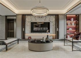 130平米三室两厅新古典风格客厅图片大全