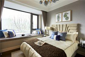 120平米四室两厅混搭风格卧室装修图片大全