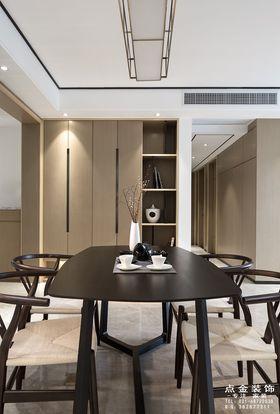 80平米中式风格餐厅效果图