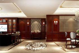140平米别墅美式风格客厅图片