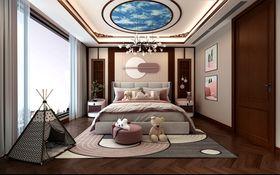 140平米別墅中式風格臥室欣賞圖