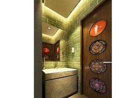 140平米东南亚风格卫生间装修案例