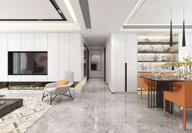 110平米四室两厅现代简约风格走廊装修图片大全