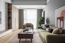 130平米四室两厅北欧风格客厅装修图片大全