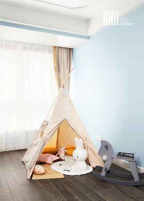富裕型140平米三室两厅法式风格儿童房图