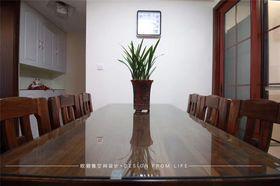 90平米中式风格餐厅装修案例