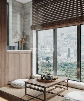 140平米三室两厅新古典风格阳台欣赏图