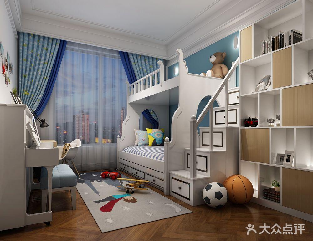 140平米金融北欧风格要点房设计图复式办公室平面设计儿童图片