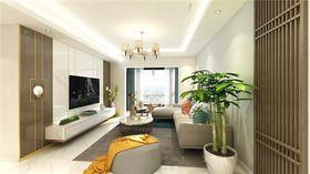 100平米四混搭风格客厅设计图