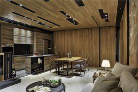 130平米三室一厅中式风格客厅效果图