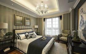 经济型140平米三室两厅中式风格卧室图片大全