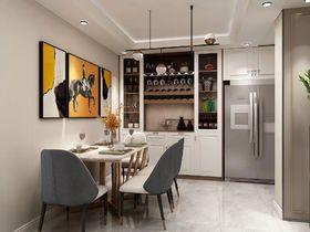 100平米三現代簡約風格餐廳效果圖
