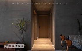 120平米三室两厅其他风格走廊设计图