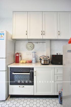 90平米美式风格厨房装修案例
