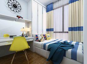5-10万90平米三室两厅现代简约风格儿童房图片