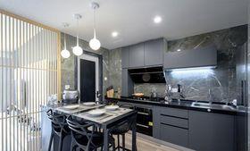 100平米混搭风格厨房图